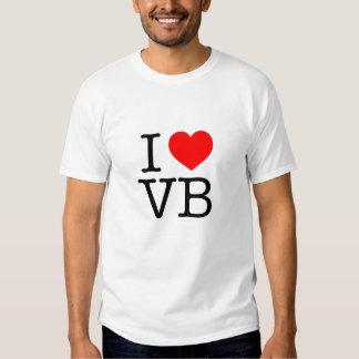 I love VB Virginia Beach Tshirt