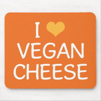 I Love Vegan Cheese Mousepad
