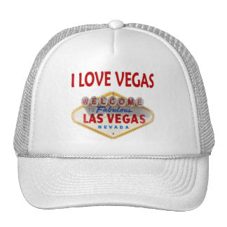 I LOVE VEGAS CAP HATS