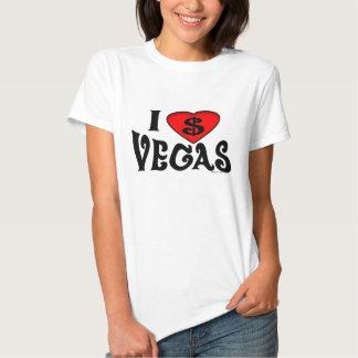 I Love Vegas Women's Shirt