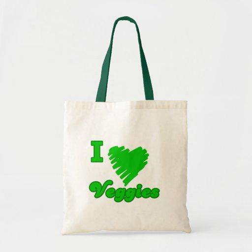 I Love Veggies Bag