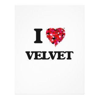 I love Velvet 21.5 Cm X 28 Cm Flyer