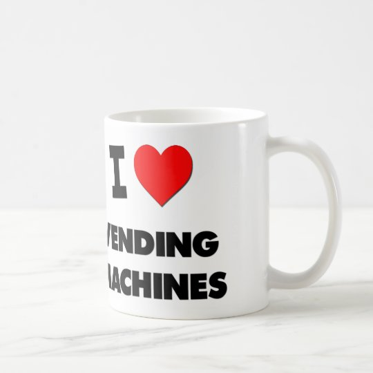 I love Vending Machines Coffee Mug