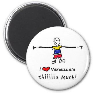 I lOVE VENEZUELA Magnet