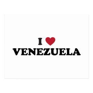 I Love Venezuela Postcards