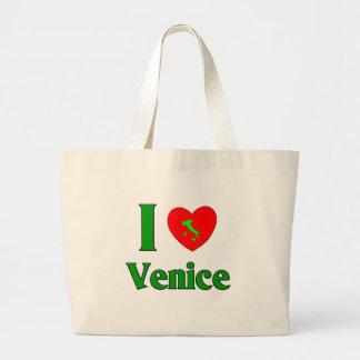 I Love Venice Jumbo Tote Bag