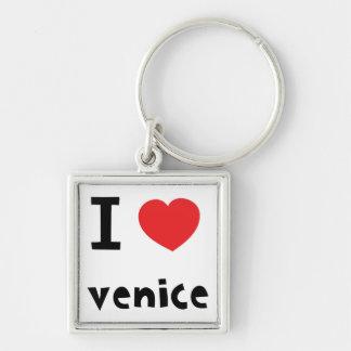 I love Venice Key Ring