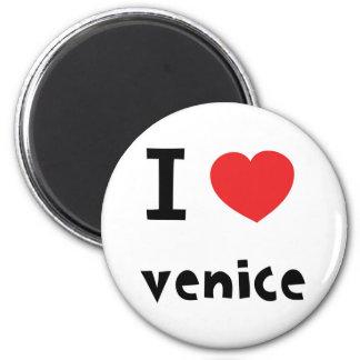 I love Venice Magnet