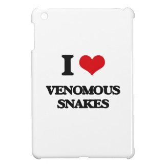 I love Venomous Snakes iPad Mini Case
