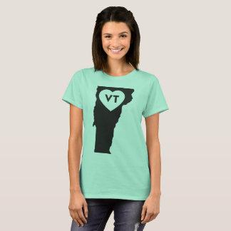 I Love Vermont State Women's Basic T-Shirt