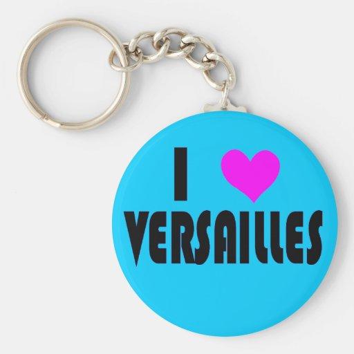 I Love Versailles France keychain