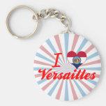 I Love Versailles, Missouri Key Chain