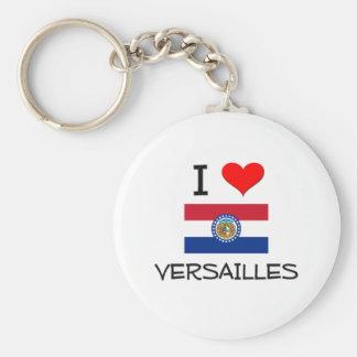 I Love Versailles Missouri Key Chain