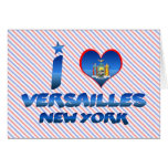 I love Versailles, New York Greeting Card