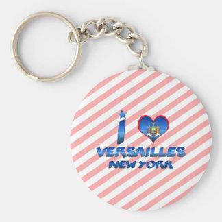 I love Versailles, New York Key Chain