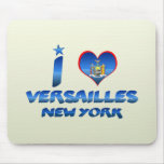 I love Versailles, New York Mouse Pad