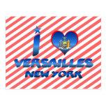 I love Versailles, New York Postcard
