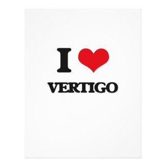I love Vertigo 21.5 Cm X 28 Cm Flyer