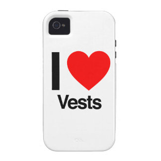 i love vests vibe iPhone 4 cases