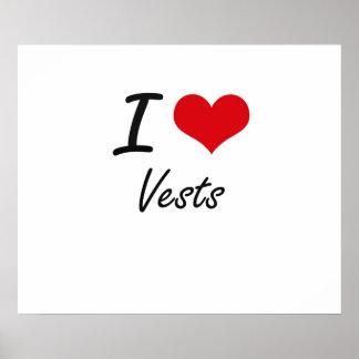 I love Vests Poster