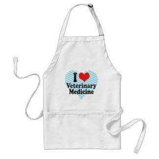 I Love Veterinary Medicine Standard Apron