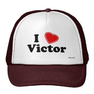 I Love Victor Hats