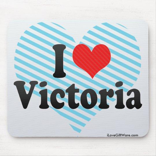 I Love Victoria Mouse Mat