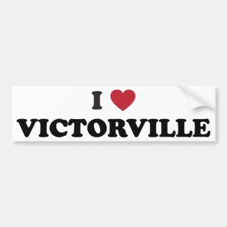 I love Victorville California Bumper Sticker