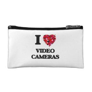 I love Video Cameras Makeup Bags