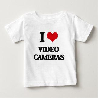 I love Video Cameras Tshirts