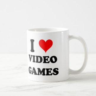 I Love Video Games Coffee Mug