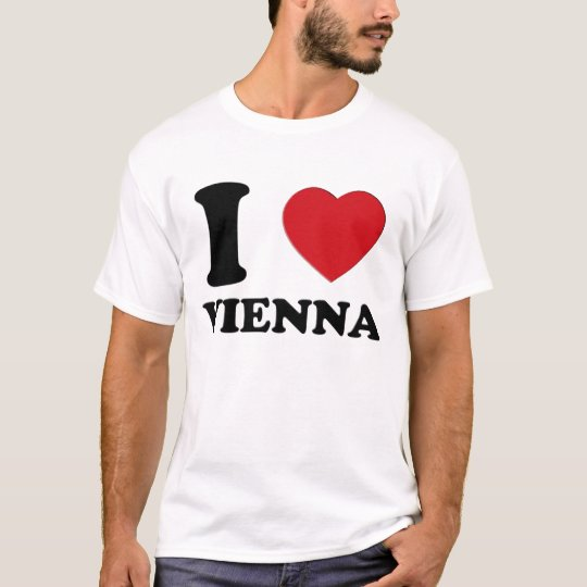 I LOVE VIENNA 3D T-Shirt