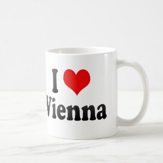 I Love Vienna, Austria Mug