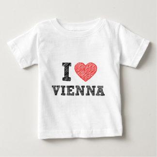 I Love Vienna Baby T-Shirt