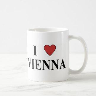 I Love Vienna Basic White Mug