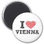 I Love Vienna Fridge Magnets