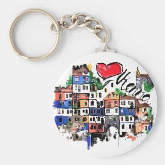 I love Vienna Key Ring