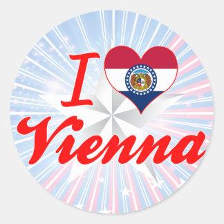 I Love Vienna Missouri Sticker