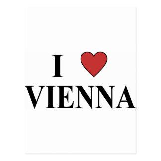 I Love Vienna Post Card