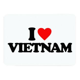 I LOVE VIETNAM PERSONALIZED ANNOUNCEMENT