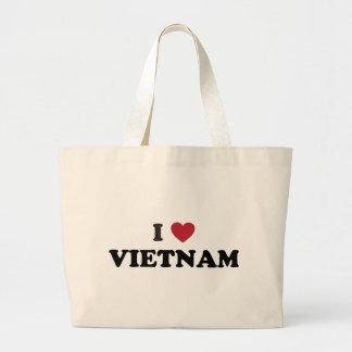 I Love Vietnam Jumbo Tote Bag