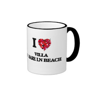 I love Villa Mare Ln Beach Florida Ringer Mug