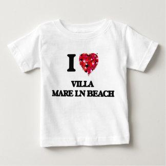 I love Villa Mare Ln Beach Florida T Shirt