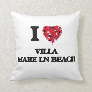 I love Villa Mare Ln Beach Florida Throw Cushion