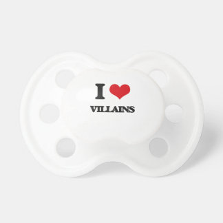 I love Villains Baby Pacifier