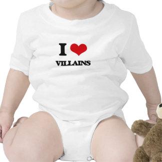 I love Villains Baby Bodysuits