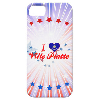 I Love Ville Platte, Louisiana Case For The iPhone 5