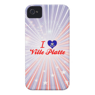 I Love Ville Platte, Louisiana Case-Mate iPhone 4 Cases