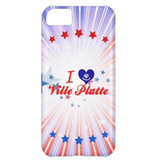 I Love Ville Platte, Louisiana Case For iPhone 5C