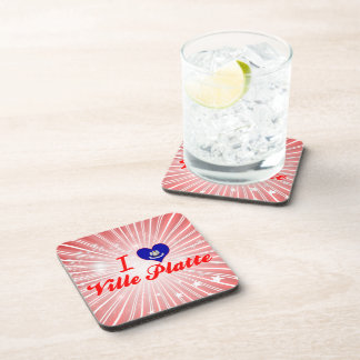 I Love Ville Platte, Louisiana Coasters